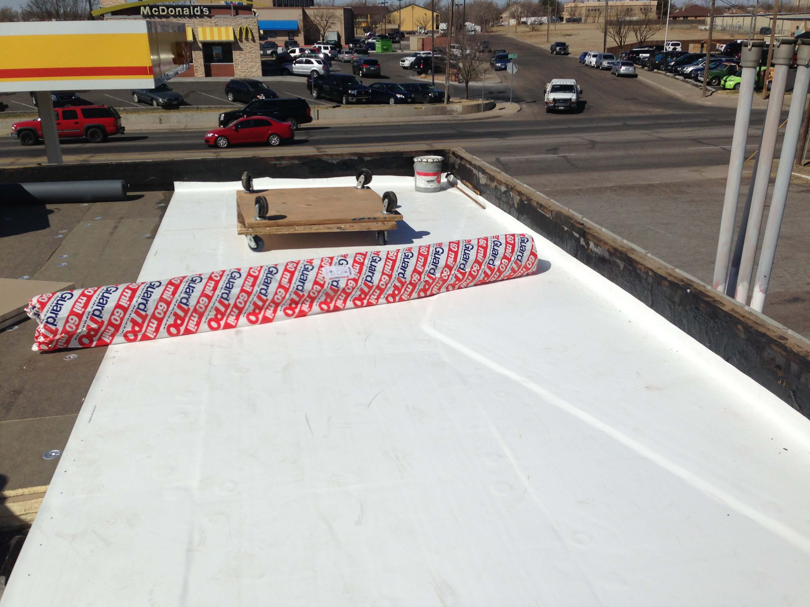 Flat Roof Commercial Install