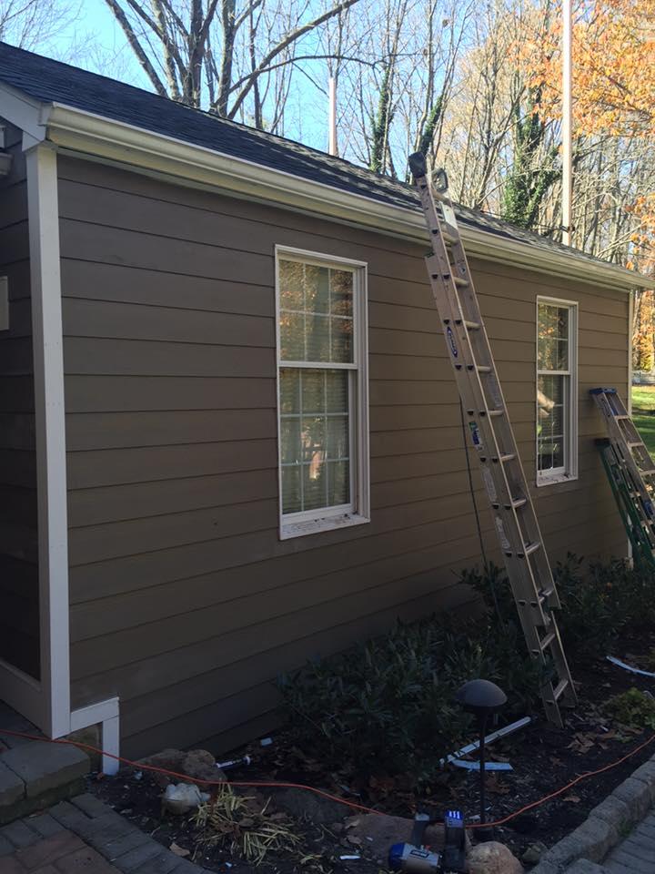 new siding install