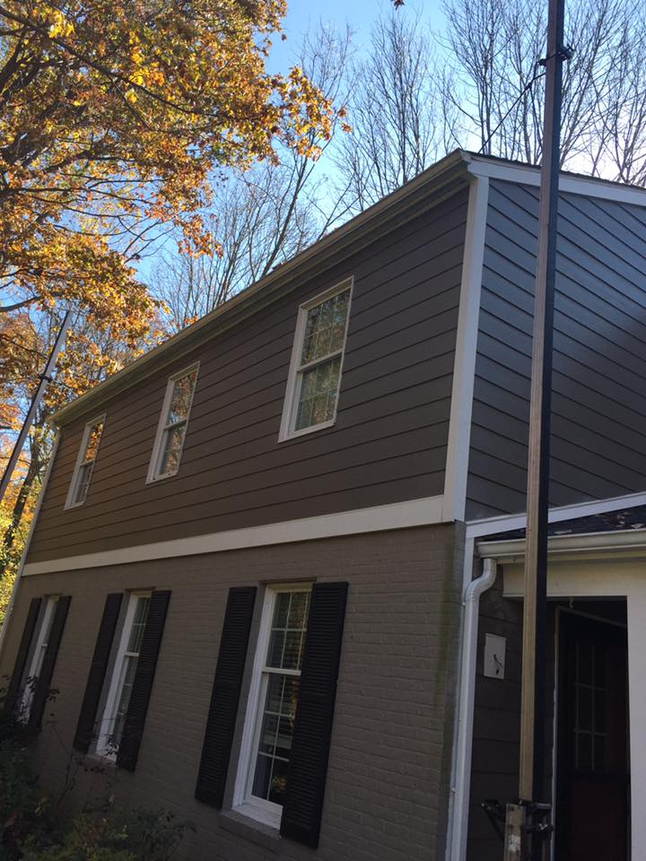 Updated Siding