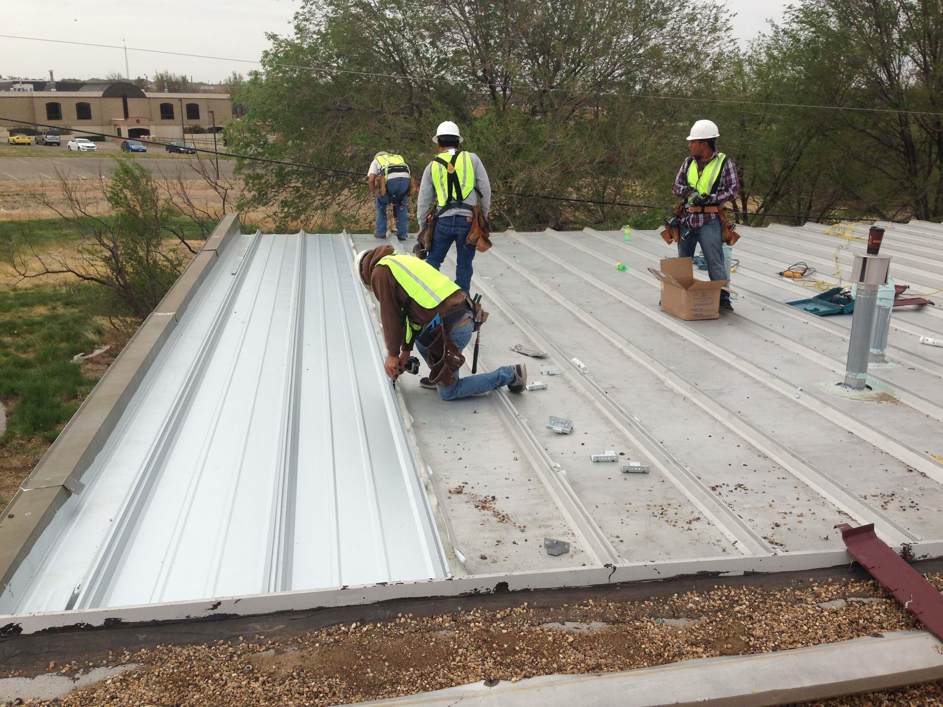Commercial Metal Roofing Service