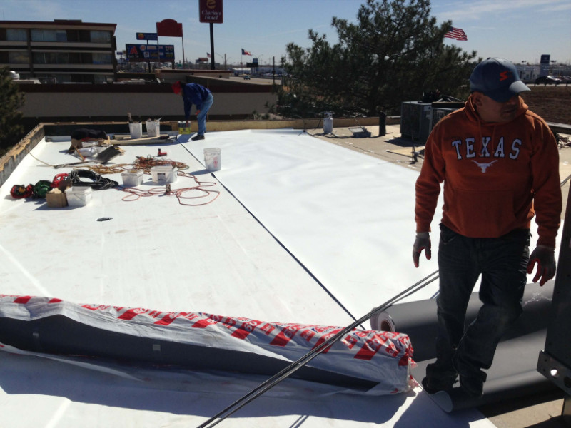Commercial Roof Replacement North Richland Hills