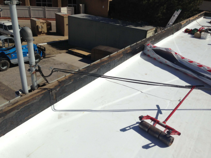 Flat Roofing Repair Service