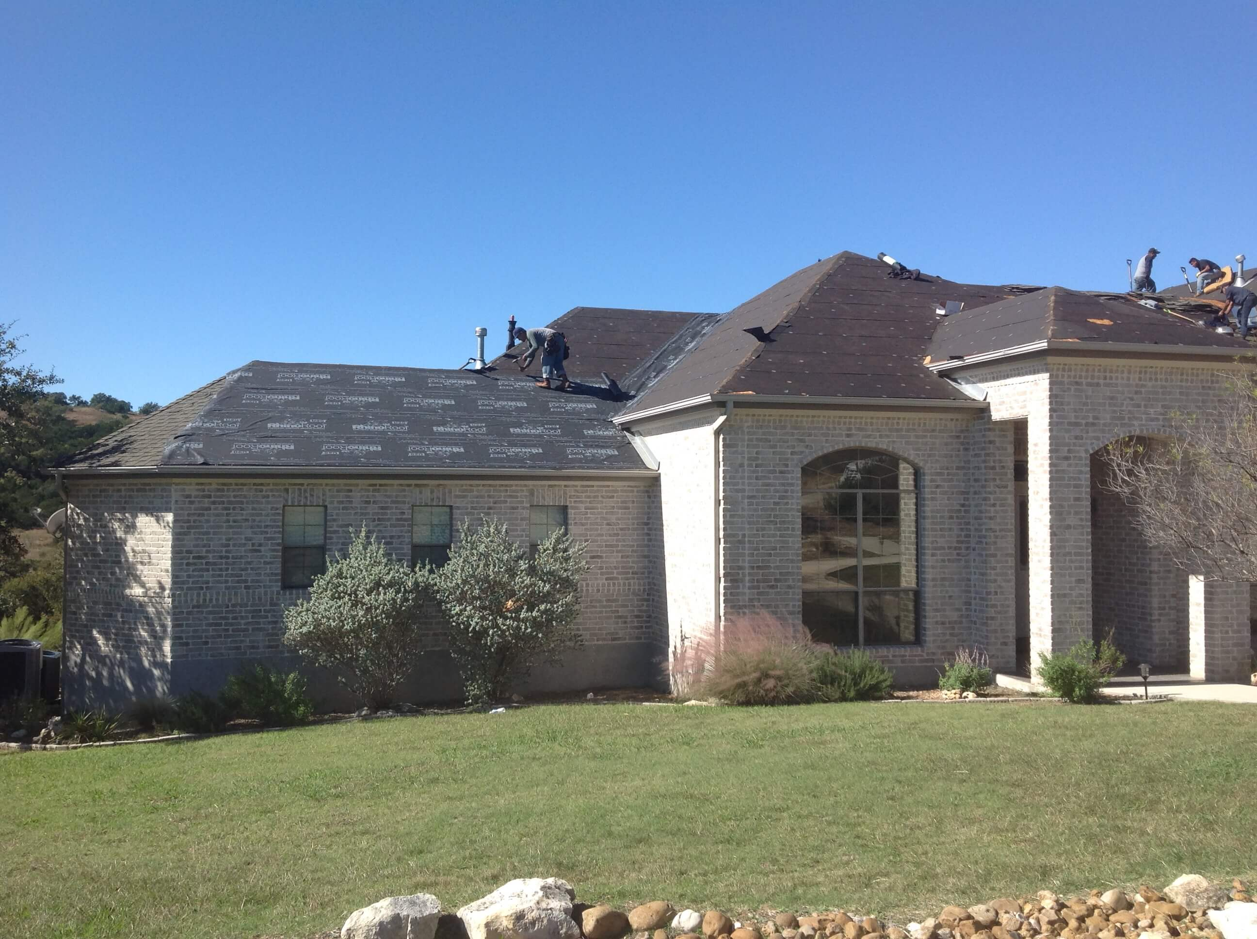 New Asphalt Roof