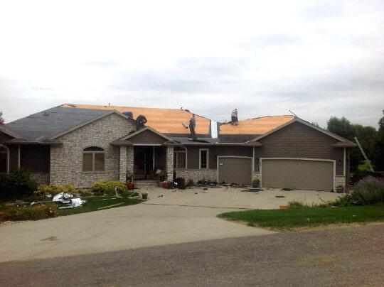 Replacing Roof