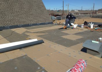 Replacing Commercial Roof