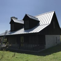 Metal Roofing Job