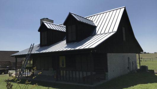 Metal Roofing Job