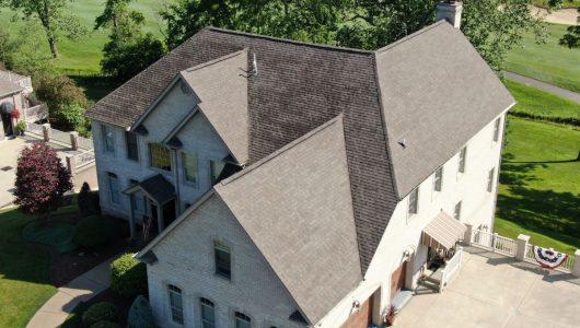 asphalt roof replaced
